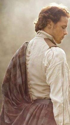 Beyond Outlander — Outlander season 1 costumes - Sam Heughan Jamie Fraser, Claire Fraser, Diana Gabaldon, Outlander Season 1, Outlander Tv Series, Outlander 2016, Outlander Quotes, Outlander Casting, British American