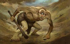 JonHodgson on deviantART - Cyclops. Fantasy Creatures, Mythical Creatures, Greek Mythological Creatures, Greece Mythology, Creature Picture, Mythical Birds, Classical Antiquity, Legendary Creature, Fantasy Races