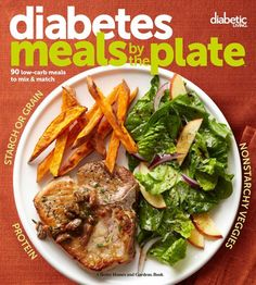 Diabetic Living Diabetes Meals by the Plate: 90 Low-Carb Meals to Mix & Match [Diabetic Living Editors] on . *FREE* shipping on qualifying offers. An easy, graphic guide to planning delicious, diabetes-friendly meals This innovative Diabetic Meal Plan, Diabetic Snacks, Diabetic Recipes, Low Carb Recipes, Diet Recipes, Healthy Recipes, Easy Diabetic Meals, Diabetic Cookbook, Diabetic Friendly