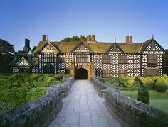 Speke Hall, Liverpool    Doesn't this look like the yellow house on Maurus St that was for sale last year?!