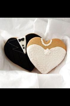 Decorated biscuits - could be stamped with personalisation
