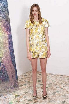 stella mccartney resort 2013 - I would wear this for afternoon bubbly & a rooftop party!