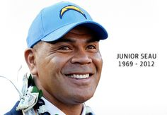 Seau was my idol growing up. I wore #55 in pee wee football. I watched him carry the Chargers for 13 seasons and make 12 pro-bowls. He was a model citizen. He will be dearly missed. RIP #55.