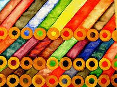 Repetition Colored Pencils, Art Supplies, Pens, Photos, Colouring Pencils, Pictures, Crayons
