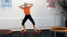 Übungsprogramm für Beine Knie Koordination auf dem bellicon® Trampolin