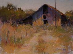 Off the Beaten Path by Barbara Jaenicke Pastel ~ 9 x 12