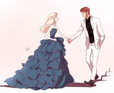 ysue-chan:  Helsa - Modern Cinderella AUInspired by this [ MV ]For me, the lyric is too helsaplus the video remind me of Hans and his brothers (omg <3!) cock blocking each other.Tho I choose this guy because; his the youngest + white tux + beast
