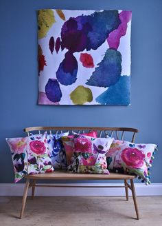 Amazing floral designer scatter cushions by Bluebellgray available at Gorgeous Creatures. www.gorgeouscreatures.co.nz