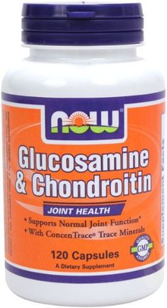 NOW Foods Glucosamine and ChondroitinMins 120 Capsules * Read more  at the image link. (This is an affiliate link and I receive a commission for the sales)