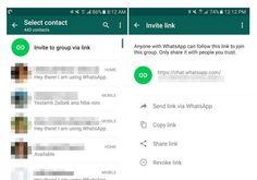 Versión beta de Whatsapp permite crear links para añadir miembros a un grupo
