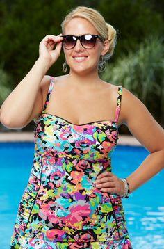 986d124ffba Kenneth Cole Plus Size Swimwear   Bathing Suits