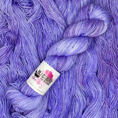 sock yarn, fingering weight yarn, 7 Hours and 13 Days Fingering Yarn, 13 Days, Blackbird, Finger Weights, Sock Yarn, 2 Ply, 7 Hours, Periwinkle, Midnight Blue