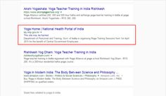 See what is Google saying about this Indian Government site. #googleindia #government_india