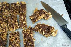 Dailycious - Νόστιμες Καθημερινές Συνταγές!: Σπιτικές Μπάρες Δημητριακών