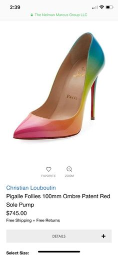 check out f5548 4d37c best price louboutin bridal pictures rainbow fa696 859c4