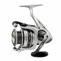"Laguna 5BI Spinning Reel - 2500, 5.3:1 Gear Ratio, 6 Bearings, 31.1"" Retrieve Rate, 8.80 lb Max Drag, ClamManufacture ID: LAGUNA2500-5BI-CPHere's a perfect match to Daiwa's value-priced Laguna baitcasting reels and Laguna rods, LAGUNA 2500-5BI  Spinning ReelFeatures:- Five ball bearings and one roller bearing- Infinite Anti Reverse- Micro-click front drag adjustment- One Touch Folding Handle - Digigear Digital Gear Design for Speed, Power and Durability- Twist Buster- Advanced Locomotive…"