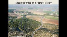 위성사진으로본 성경지도 6번 이스라엘에서 아주 특별한 지역인 이스르엘 골짜기와 그 주변도시들