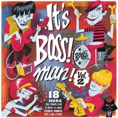 It's Boss! Man - Vol. 2 (LP) Boss Man, Marcel, Lp, Graphic Design, Cool Stuff, Creative, Bacon, Artists, Pork Belly