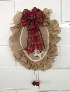 #8 - fabric-covered toilet seat wreath