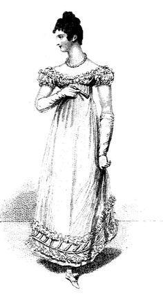 Evening Dress, January 1816.