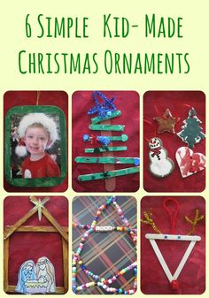 These are super cute! My husband has the reindeer one he made when he was a kid. Gonna try some of these for sure!