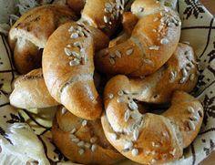 Czech Recipes, Bagel, Bread, Homemade, Cooking, Czech Food, Czech Republic, Hampers, Kitchen