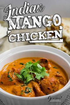 Mango chicken Indian curry authentic recipe - My list of the best food recipes Mango Chicken Curry, Mango Curry, Indian Chicken Curry, Pineapple Chicken, Indian Food Recipes, Asian Recipes, Ethnic Recipes, Authentic Indian Recipes, Indian Chicken Recipes