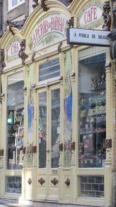 A Pérola do Bolhão, Porto - Investors Europe Stock Brokers Gibraltar Portugal Porto, Visit Portugal, Portugal Travel, Spain And Portugal, Magic Places, Voyage Europe, Lovely Shop, Shop Fronts, Shop Around
