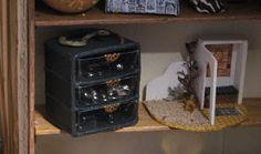 Caseys Minis  mini storage idea using blister packs and cardboard