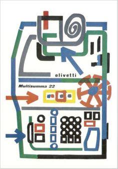 Olivetti Multisumma 22 Advertising | Flickr - Photo Sharing!