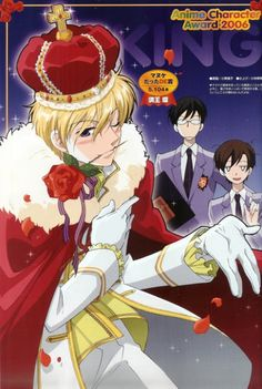 Ouran High School Host Club   i was wondering what was going on, and then i saw what was written in the top right corner.