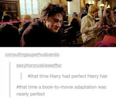 Perfect Harry hair