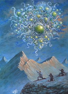 "wilburwhateley: "" Yog-Sothoth by Frank-Walls "" Cthulhu Art, Lovecraft Cthulhu, Hp Lovecraft, Call Of Cthulhu, Yog Sothoth, Lovecraftian Horror, Eldritch Horror, Dark Fantasy Art, Horror Art"