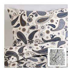 Pair Ikea Akertistel Yellow /& White Standard Size Pillowcases EUC Floral Sunny