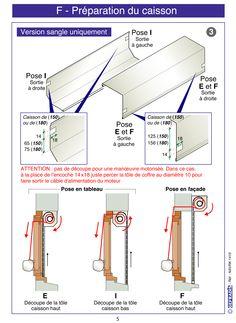 Page 5. Cette notice vous explique comment poser votre volet roulant en kit vous-même.  Prix d'usine sur Gefradis.fr.