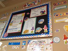 Carson-Dellosa: Happy Hedgehogs Focus Wall will help display big ideas for math and ELA