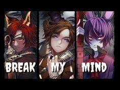 Nigthcore - Break My Mind ( SWITCHING VOCALS )   lyrics [ DA GAMES ] - YouTube Fnaf Song, Original Music, Stronger Than You, Music Publishing, Youtube, Lyrics, Games, Twitter, Artist