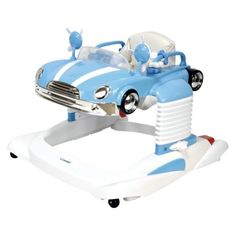 Combi All in One Activity Walker. If munchkin is a boy it is classic Car theme Right? this will do nicely @JessicaFitzgerald