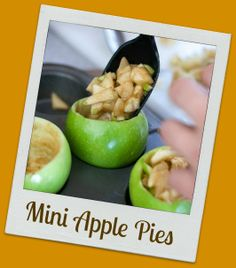 Baking mini apple pies with your kids will warm you up on even the chilliest fall day!
