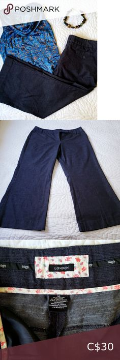 Denim Trousers Togo London brand denim trousers (from The Bay). Excellent used condition. London Brands, Size 16 Jeans, Plus Fashion, Fashion Tips, Fashion Trends, Pants For Women, Trousers, Ship, Denim