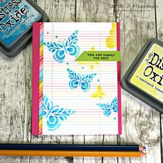 My Impressions: SSS April Card Kit: Simply the Best, GIVEAWAY, and Copic Sale