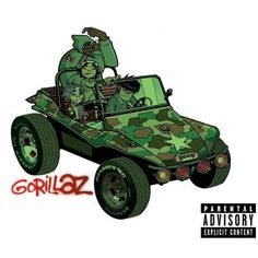 """Gorillaz """"Gorillaz""""."""