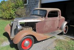 Three-Window Flatty Project: 1934 Ford Coupe