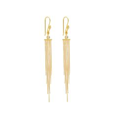 The Danish BOHO Collection is inspired by the Mediterranean lifestyle. The collection combines warm colours, vintage pearls & happy elements - infusing VERA VEGA's minimalistic, Scandinavian heritage with an exotic, bohemian vibe and a touch of ethnic magic.Made in yellow gold plated sterling silver and set with a beautiful Mountain Crystal, these chandelier earrings will add a magical touch from the Middle East to your jewellery collection.