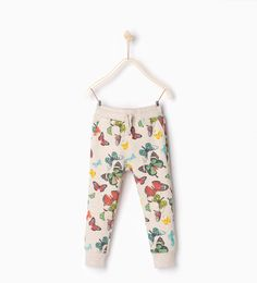 Butterflies trousers-LEGGINGS AND TROUSERS-GIRL | 4-14 years-KIDS | ZARA United States
