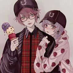 Izzy x Kayleigh? Anime Siblings, Anime Couples, Cute Couples, Manga Drawing, Manga Art, Chibi Couple, Cute Anime Coupes, Cute Couple Art, Korean Art