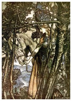 The Ring of the Niblung - The Valkyrie 05 - Arthur Rackham