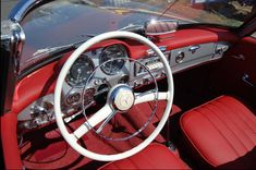 1959 Mercedes-Benz 190SL Convertible. Seen on: http://www.hemmings.com. Seen on: http://www.classic-cars-placek.de. For all your Mercedes Benz #190SL restoration needs please visit us at http://www.bruceadams190sl.com. #BruceAdams190SL.