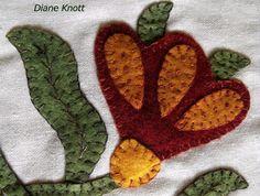 Diane Knott - Fraktur in Wool