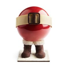 This is a chocolate! The amazing work of Monsieur Pierre MARCOLINI. ***** xmas cake (¯`♥´¯) ***** Chocolate Navidad, Chocolate Christmas Gifts, Chocolate Santa, I Love Chocolate, Chocolate Heaven, Belgian Chocolate, Chocolate Truffles, Christmas Desserts, Christmas Cakes